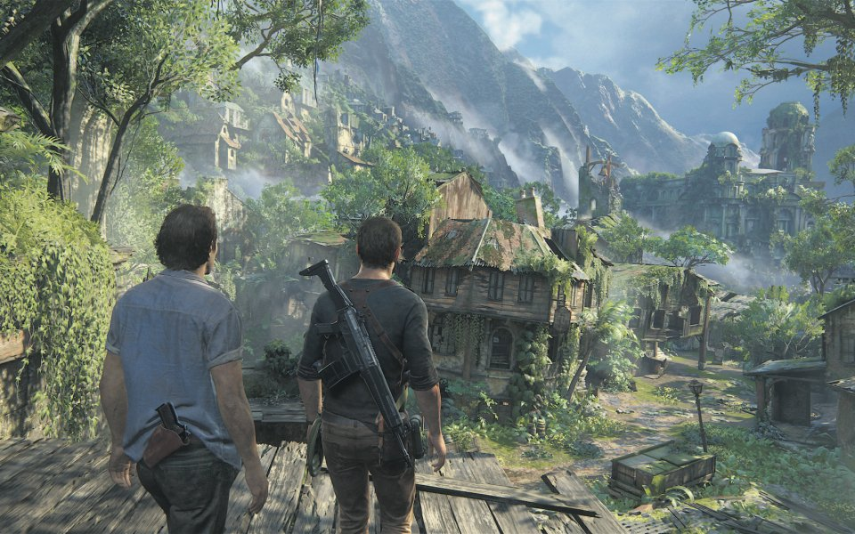 Uncharted 4 View